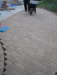 Pavers Placed