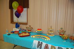 Special 1st Birthday Display