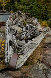 Beached Boat by Terry Sposito (AC)