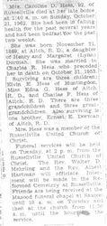 Hess, Caroline Dorman 1962