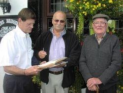 Bob Anthony, Bob Kirkwood, Billy Barber