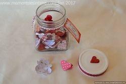 Heart Sentiment Jar
