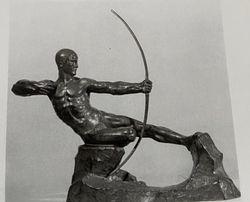 Tireur à l'arc Victor Demanet