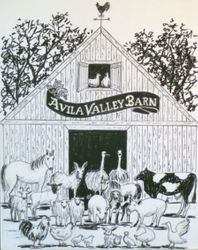 Avila Barn Drawings – 1