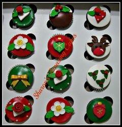 CC51 - Christmas Cupcakes