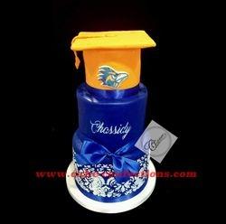 UTSA Road Runner Graduation Cake