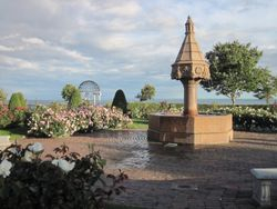 Leif Erikson Rose Garden with Horse Fountain