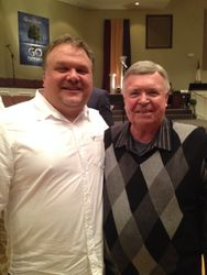 Steve with Jim Murray (Imperials & Gaither Vocal Band)