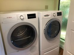 Washer and Dryer Installed