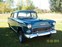 38. 55 Chevy 210 GASSER style