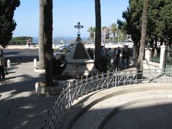 Entrada de Iglesia en Monte Carmelo