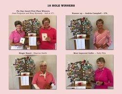 18 Hole Winners