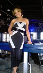 Demetria McKinney At An Event In Houston, Texas