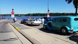 Waiting for the ferry.