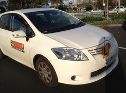Driving School Sunshine VIC 3020 - Toyota Corolla Hatch - Automatic
