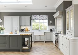 BRETTON PARK FARMHOUSE GUN METAL GREY & LIGHT GREY