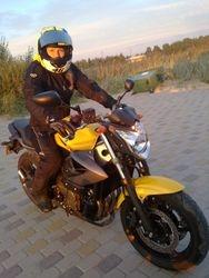 Motoskolas absolvente Evija