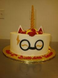 30 serving Harry Potter unicorn $135