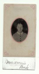 "Mrs. Louana ""Annie"" (Ealy) Buck"