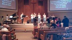 Teens Leading Worship