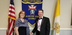 Sir Knight Gary Driscoll and Lady Susan