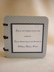 Chipboard Coaster Book - Little Book of Inspiratio