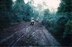 1981 Alpine Rally @ Perkins Flat - Tumut to Brindabella Rd was officially closed