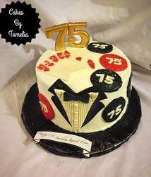 Tuxeo  Theme Casino Cake