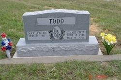 Located in Salona Cemetery, Salona, Texas