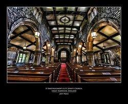St Bartholomew's & St John's Church, Great Harwood, England