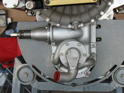 right angle starter drive