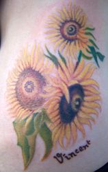 VanGough Sunflowers