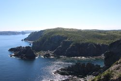 View at Long Point Lighthouse, Twillingate