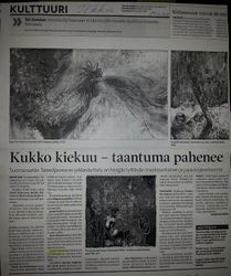 Newspaper Ilkka 29.10.2012