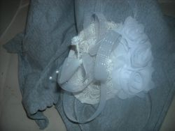 White Lace Fascinator