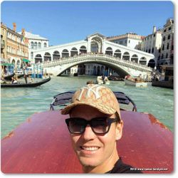 Tomas Berdych in Venice, Italy
