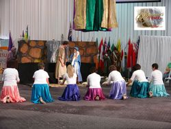 Adoration to the newborn King