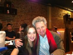 With daughter Ilinca, Vienna Med.Univ. student, in Montreal