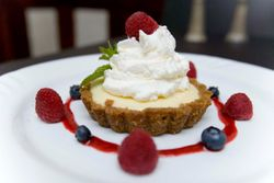 Lime and Ginger Snap Tart