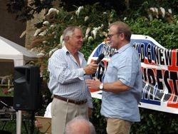 Frank Rimer and Mal Sanders