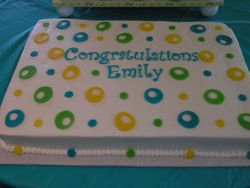 Graduation Sheetcake