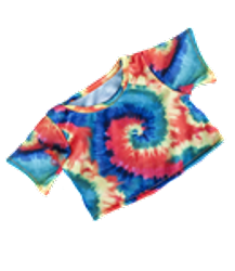 T dye shirt