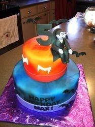 """The Count"" Birthday cake"