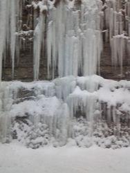 Ice on I-64 going towards Lexington