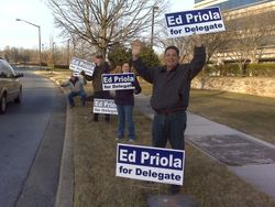 Sign Waving