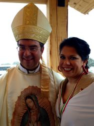 Bishop Cantu and Jennifer Gaston