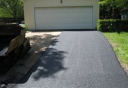 Driveway During Installation  (1 of 2)