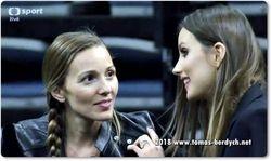 Jelena Djokovic and Ester Berdych Satorova