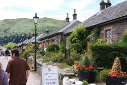 Village of Luss on Loch Lomand