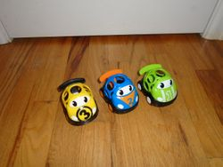 Constructive Playthings OBALL Go Grippers Numbered Vehicles - $10